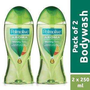 Palmolive Aroma Morning Tonic Shower Gel (250ml x 2)