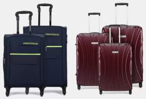 Provogue Luggage Suitcase – 83% off @ Flipkart