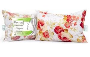 Recron Certified Utopia Polyester Fibre Floral Sleeping Pillow Pack of 2 for Rs.439 – Flipkart