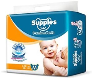 Supples Baby Diapers upto 46% off
