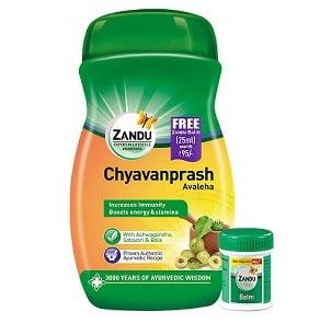 Zandu Chyawanprash Avaleha 900 g with Zandu balm free for Rs.175 – Amazon Pantry