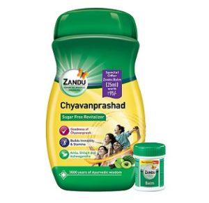 Zandu Chyawanprashad - 900 g + Zandu Balm 25 ml