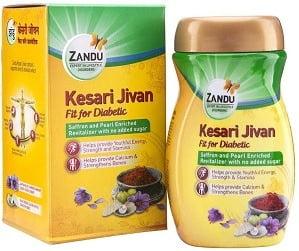 Zandu Kesari Jeevan Fit for Diabetics – 900 g worth Rs.730 for Rs.584 – Amazon