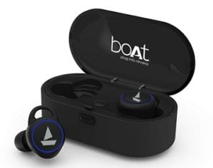 boAt Airdopes 311v2 True Wireless Earbuds (Bluetooth V5.0) with HD Sound, Integrated Controls with in-Built Mic and 500mAh Charging Case for Rs.2499 – Amazon