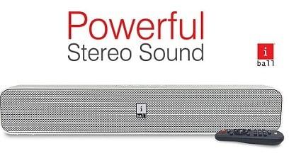 iBall Musi Bar High Power Compact Soundbar with Multiple Playback Options for Rs.1,299 – Amazon