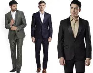 Men's Suits & Blazers – Upto 70% off + 10% off with ICICI Card @ Flipkart