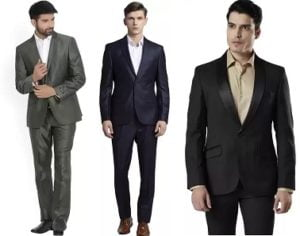 Men's Top Brand Suits & Blazers – Minimum 40% off + Extra 10% off with ICICI Cards @ Flipkart