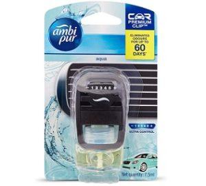Ambi Pur Aqua Car Vent Air Freshener Starter Kit (7.5 ml)