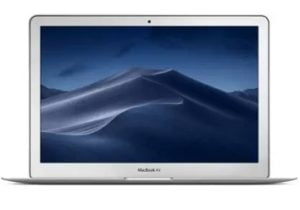 Apple MacBook Air Core i5 5th Gen – (8 GB/128 GB SSD/Mac OS Sierra) MQD32HN/A A1466  (13.3 inch, Silver, 1.35 kg) for Rs.54,990 – Flipkart