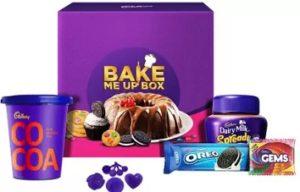 Cadbury Bake Me Up Box Combo (491.36 g) for Rs.292 – Flipkart