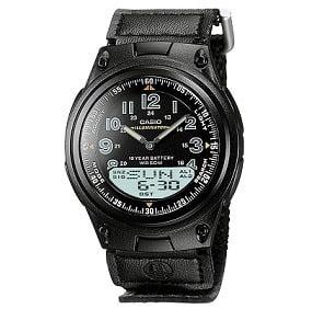 Casio Youth Analog-Digital Multi-Color Dial Unisex Watch - AW-80V-1BVDF