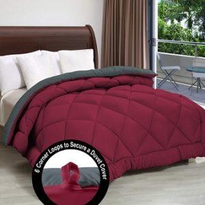 Cloth Fusion Pacifier 2nd Gen Reversible AC Comforter Double Rs.1749 – Amazon