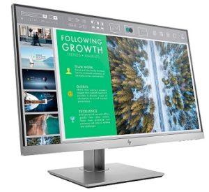 "HP 23.8"" EliteDisplay E243 LED Backlit FHD Anti-Glare Computer Monitor"