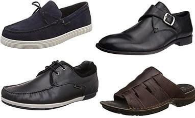 Hush Puppies Footwear upto 75% off @ Amazon