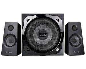 Infinity (JBL) Hardrock 210 Deep Bass 2.1 Ch Multimedia Speaker – Rs.4774 @ Amazon