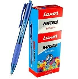 Luxor MICRA Ball Pen Pack of 20 worth Rs.200 for Rs.169 – Flipkart
