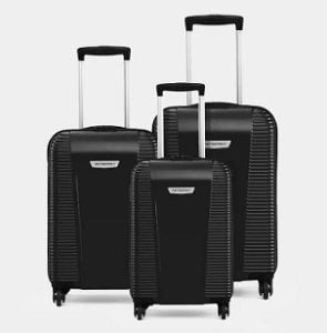 Metronaut S03-3 COMBO SET (28+24+20) Cabin & Check-in Luggage for Rs.5,499 – Flipkart (with SBI Card Rs.4949)