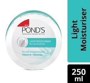Pond's Light Moisturiser, 250ml worth Rs.249 for Rs.129 – Amazon