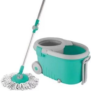 Spotzero By Milton ELEGANT PLASTIC WRINGER SPIN MOP for Rs.949 – Flipkart