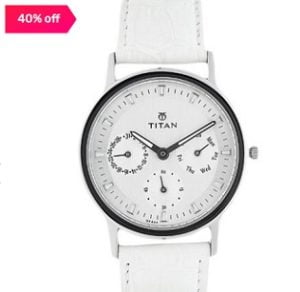 Titan NJ2557SL01 Analog Watch for Women for Rs.2480 – Tatacliq
