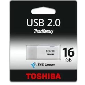 Toshiba TransMemory 16GB USB FLASH DRIVE for Rs.200 – Flipkart