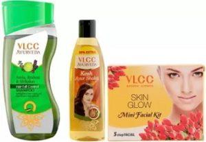 VLCC Shampoo, Hair Oil & Facial Kit worth Rs.299 for Rs.119 – Flipkart