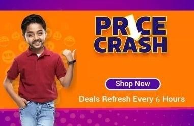 Flipkart Price Crash Deals: Upto 80% off + 10% off with SBI Credit Card