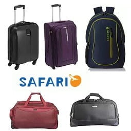 Safari Suitcase Strolley Bags Backpacks - Min 70% Off