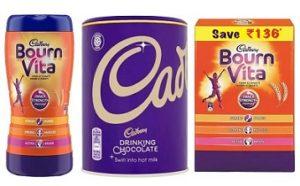 Cadbury Chocolate & Drinks upto 42% Off @ Flipkart