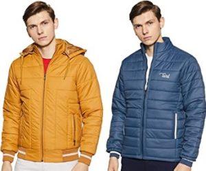 Cazibe Men's Jacket – Minimum 65% Off @ Amazon