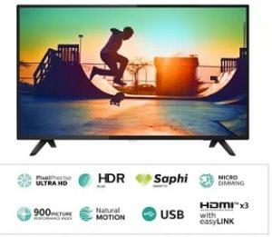 Philips 50 inch Ultra HD (4K) LED Smart TV