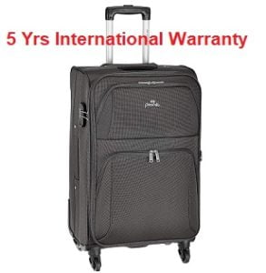 Pronto Camry Polyester 68 cms Softsided Suitcase for Rs.2147 – Amazon