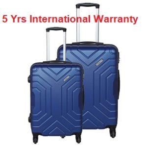 Pronto Indigo 4 Wheel Hard Suitcase Set of 2