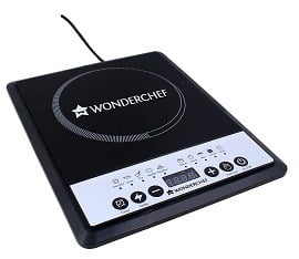 Wonderchef Power Induction Cooktop, 1800Watts for Rs.1572 – Amazon
