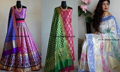 Sale on Banarasee Sarees, Suits & Fabrics @ Banarasee
