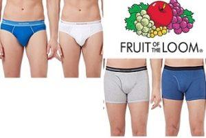 Fruit of the Loom Men's Innerwear upto 50% off + 5% Extra off – Amazon