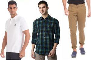 Men's Top Brand Clothing under Rs.899 – Flipkart
