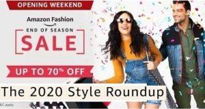 Amazon Fashion End of Season Sale: Upto 70% Off on Men's / Women's / Kids Fashion