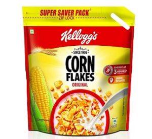 Kellogg's Corn Flakes Original 1.2 kg worth Rs.425 for Rs.325 – Amazon
