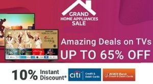 LED TV upto 65% Off + 10% Off on CITI & ICICI Debit / Credit Card @ Flipkart