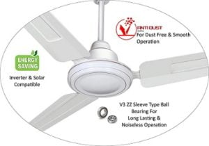 Longway Nexa Delux 1200 mm High Speed (100% Copper) Ceiling Fan 3 Years Warranty for Rs.999 – Amazon