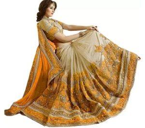 Nivah Fashion Embroidered Sarees