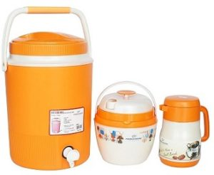 Princeware Summer Combo Plastic Ice Berg, Ice Pail and Flask Set for Rs.798 – Amazon