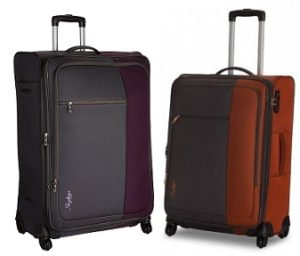 Skybags Cube Polyester 78 cms Soft Sided Suitcases for Rs.2999 – Amazon