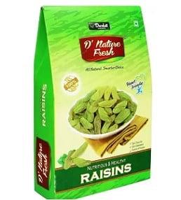 D NATURE FRESH Green Raisins 500gm