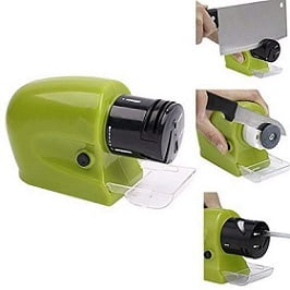 Electric Sharp Motorized Blade Machine for Kitchen Knives Sharpening