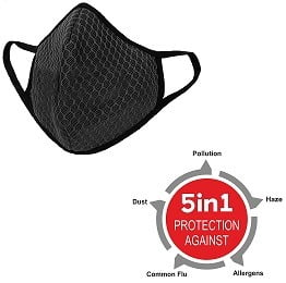 Never Lose Anti Pollution Mask with Double Layer