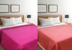 Raymond Double Coral Blanket