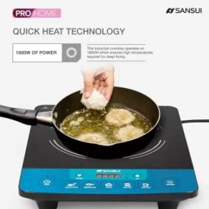 Sansui ProHome 1800W Induction Cooktop for Rs.1575 – Flipkart