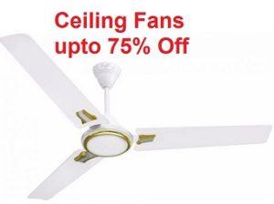 Ceiling Fans below Rs.1000 @ Moglix